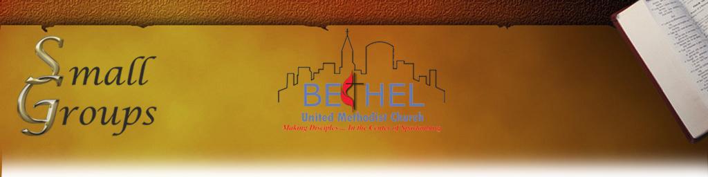 Bethel UMC Small Groups